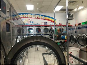 Image of laundry mat