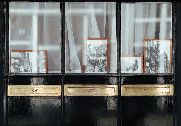 Image of photo frames and memories for this haiku entry