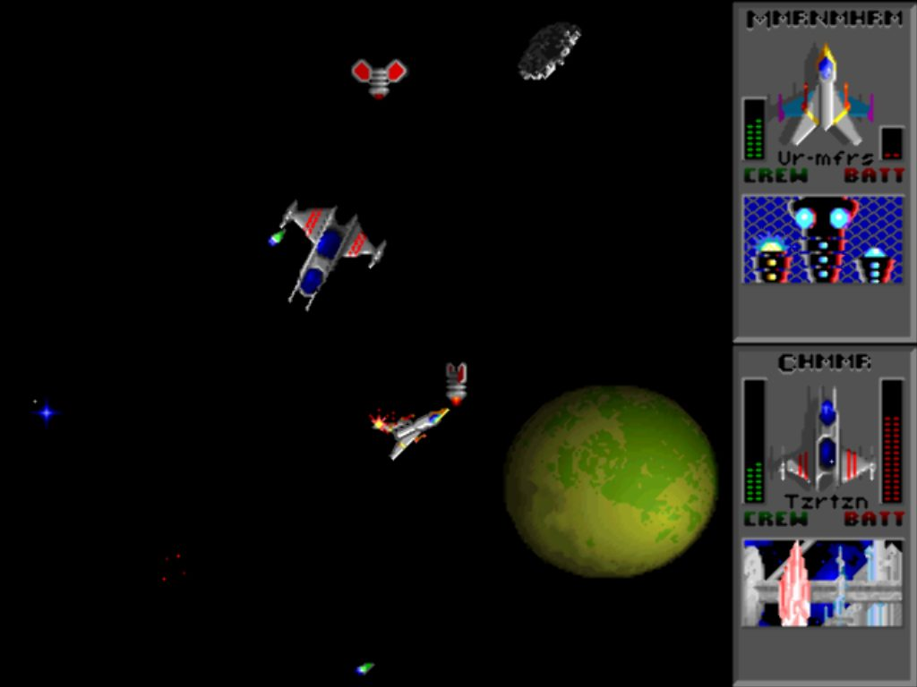 Image of Star Control 2 Melee battle-childhood memories analogy